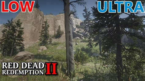 Red Dead Redemption 2 [PC] - Ultra vs Low - Graphics