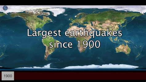 MOST POWERFUL EARTHQUAKES IN HISTORY - LARGEST EARTHQUAKE