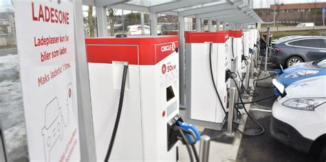 Circle K orders ABB's high power EV chargers in Norway