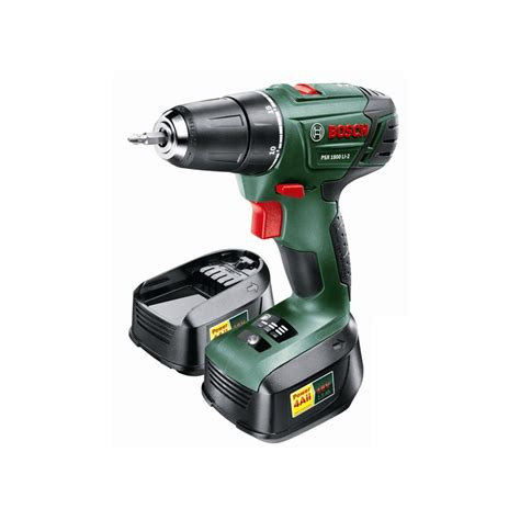 Bosch PSR 1800 18V Cordless Drill Driver With 2 Batteries