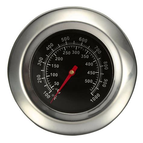 50~500℃ BBQ Grill Meat Thermometer Gauge Gage Cooking Food