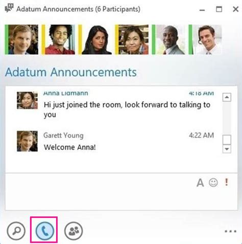 Post a message in a Lync chat room - Office Support