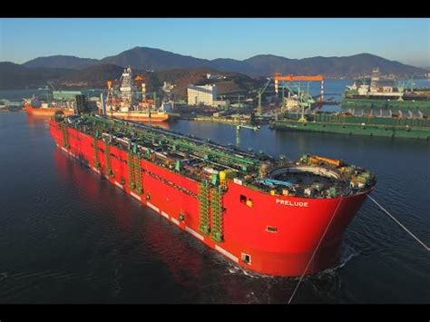 The Largest Ship in The World - Prelude FLNG - YouTube