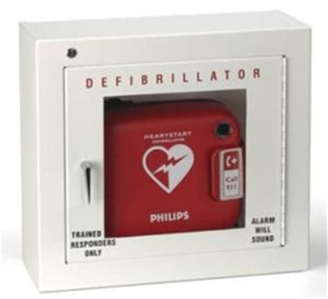 Philips Basic Alarmed AED Cabinet 989803136531