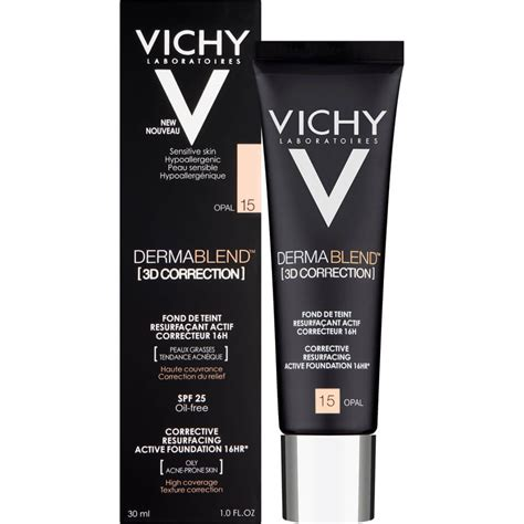 Vichy Dermablend 3D Correction Foundation 30ml - FREE Delivery
