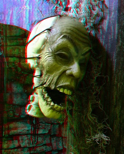 3D Picture Of The Day: Scary Face