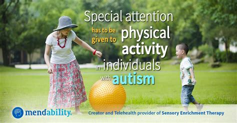 Children with Autism Benefit from Physical Exercise