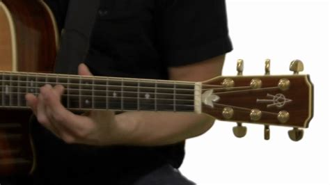Open G Guitar Tuning - Guitar Lesson - YouTube