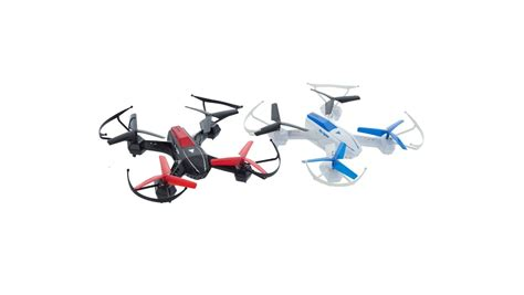 2Fast2Fun Combat Drone Twin Pack - To droner med IR-våpen